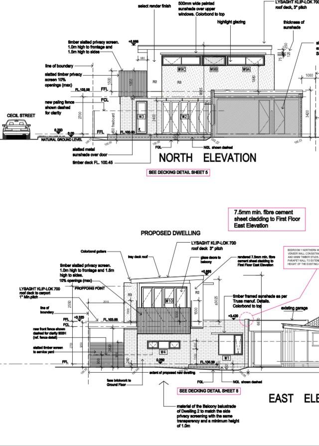 Bentleigh East Elevation