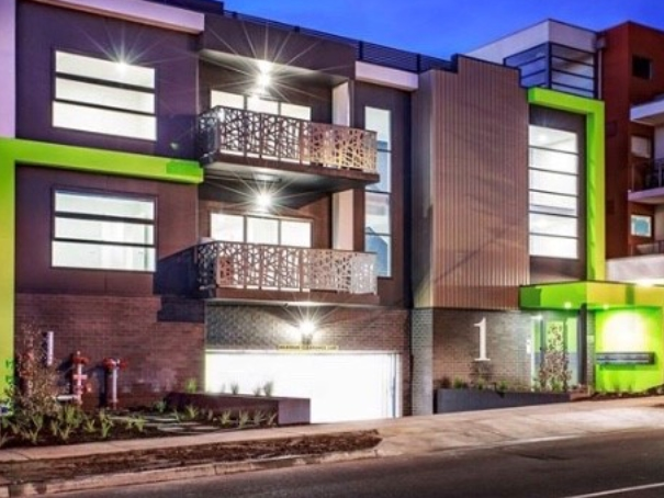 Boronia-Facade-Night-Photo-Edgestone-Developments portfolio